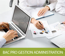 BAC PRO GESTION ADMINISTRATION (Apprentissage possible en terminale)