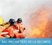 BAC PROFESSIONNEL METIERS DE LA SÉCURITÉ