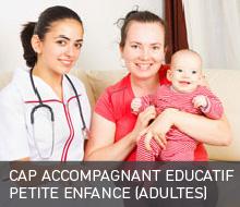CAP ACCOMPAGNANT EDUCATIF PETITE ENFANCE (Formation continue pour adultes)